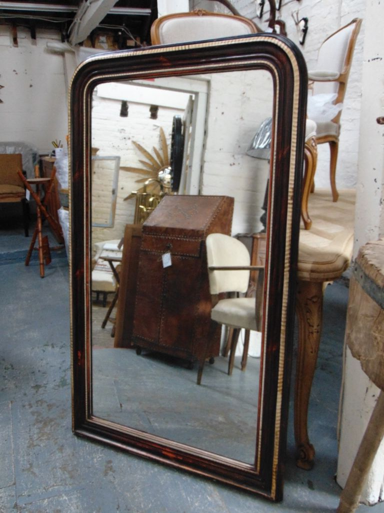 Popular Mercury Glass Wall Mirrors Throughout Antique Mercury Glass Wall Mirror (View 16 of 20)