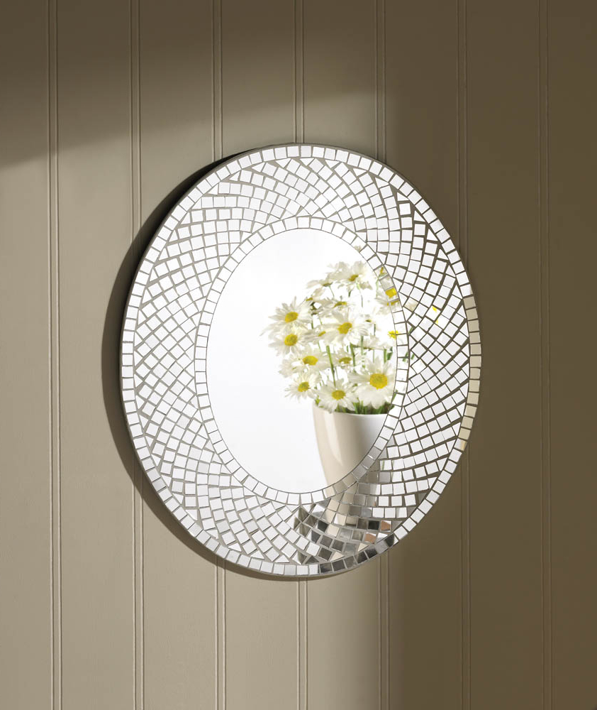 Popular Mosaic Sparkle Wall Mirror From J & T's Boutique Regarding Sparkle Wall Mirrors (View 17 of 20)