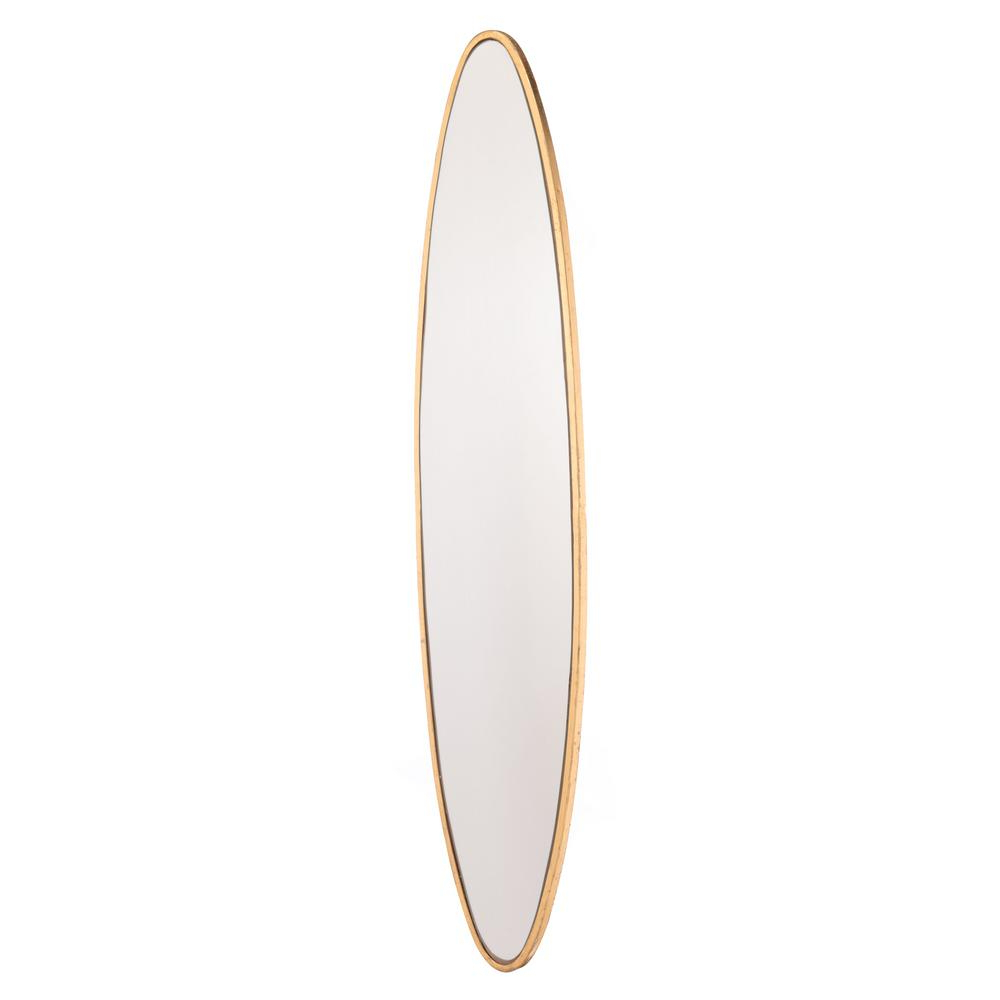 Popular Oval Shaped Wall Mirrors Intended For Oval Gold Wall Mirror (View 15 of 20)