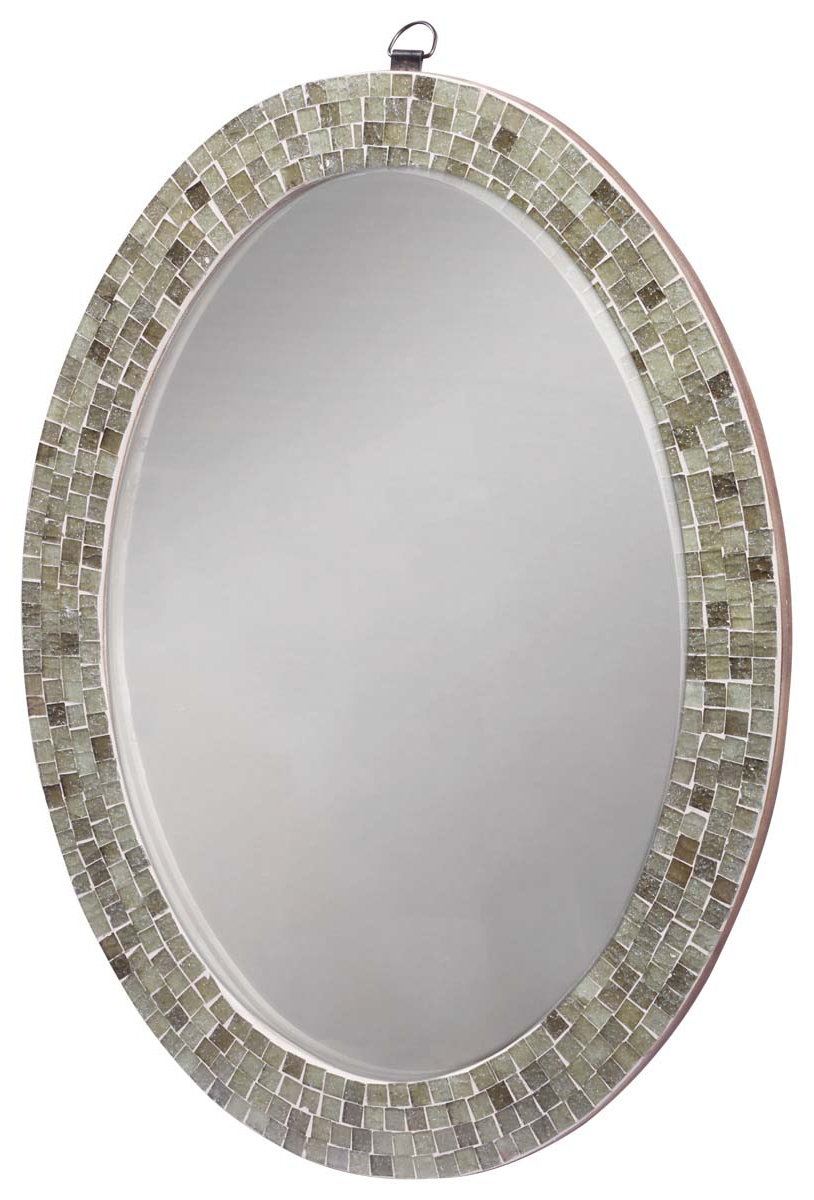 Popular Oval Shaped Wall Mirrors Throughout Wholesale Oval Shaped Wall Mounted Mirror In Bulk – Handmade (View 16 of 20)