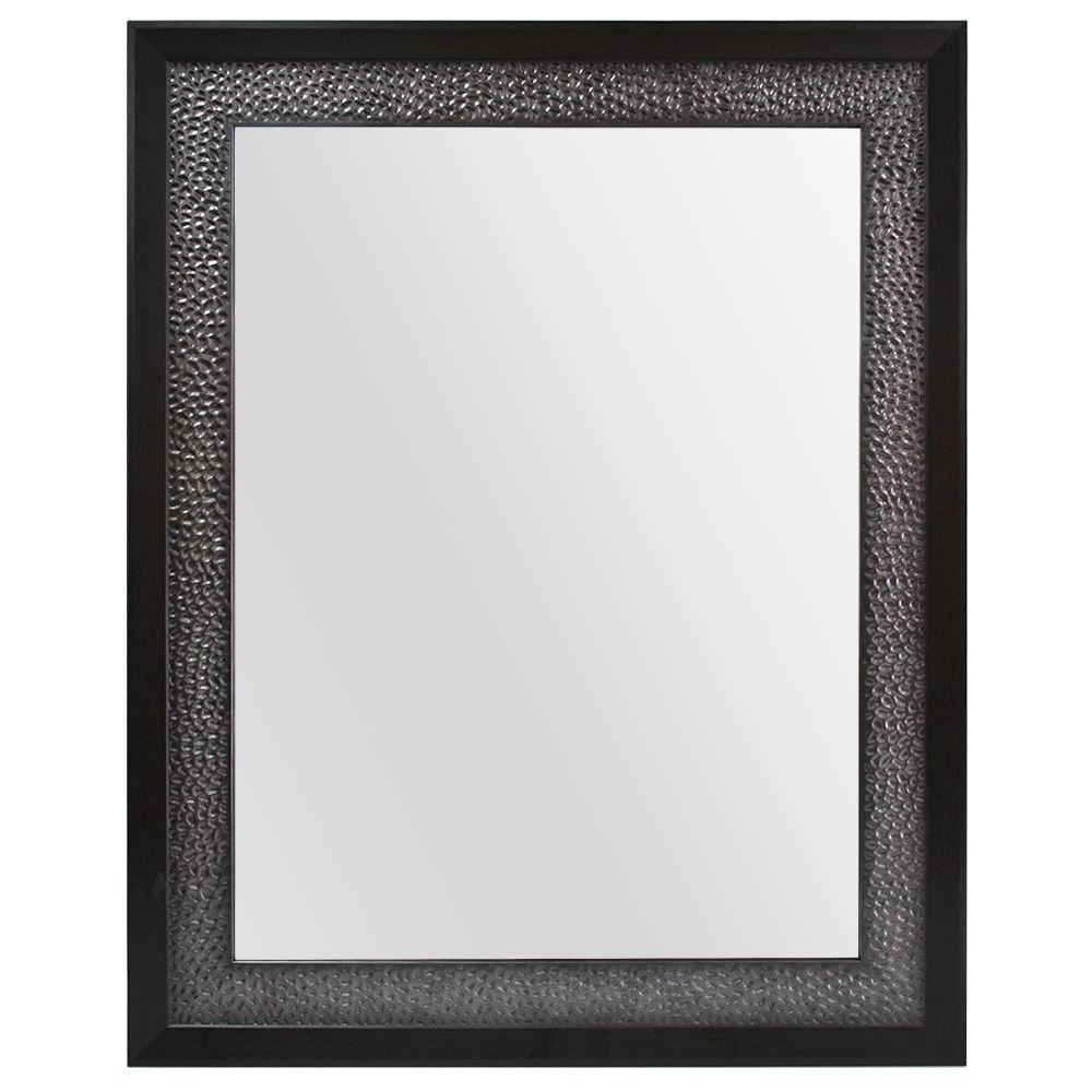 Popular Pewter Wall Mirrors Inside Home Decorators Collection 23 In. W X 29 In (View 17 of 20)