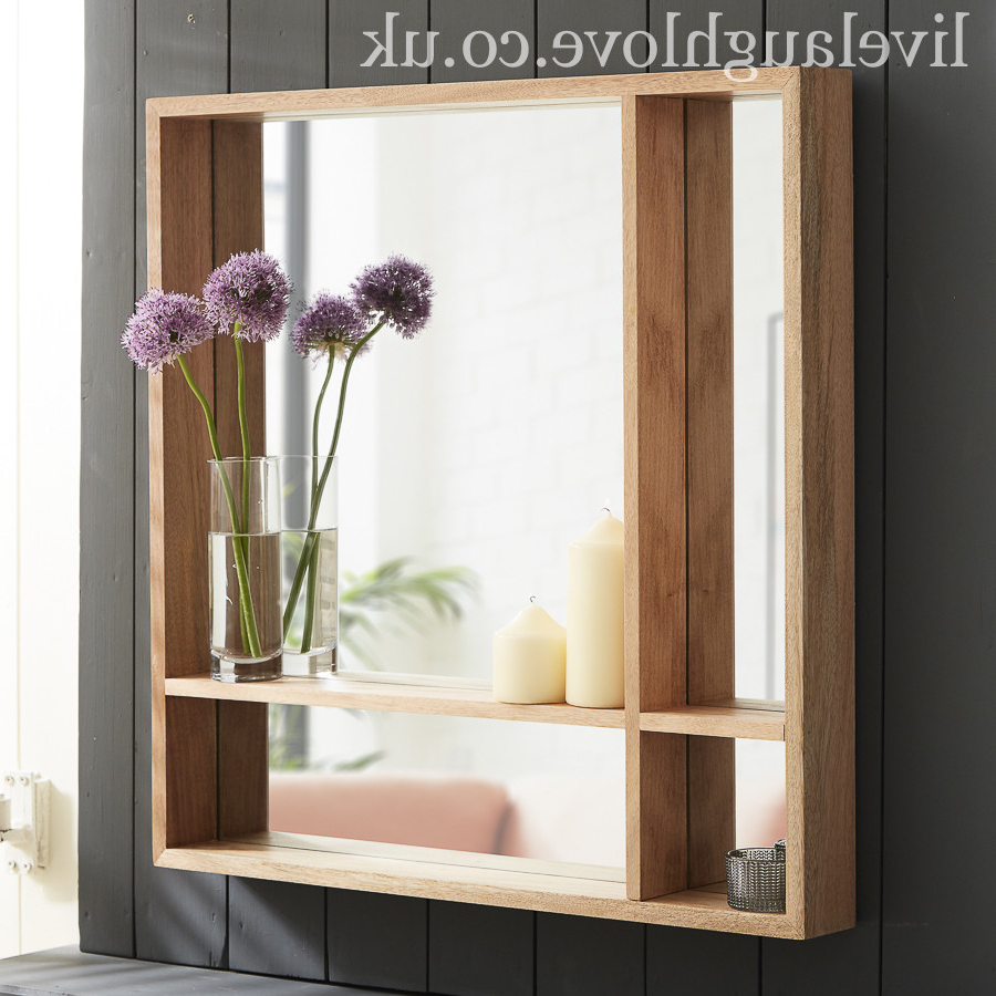Popular Red Framed Wall Mirrors In Large Deep Framed Red Walnut Wall Mirror (View 6 of 20)