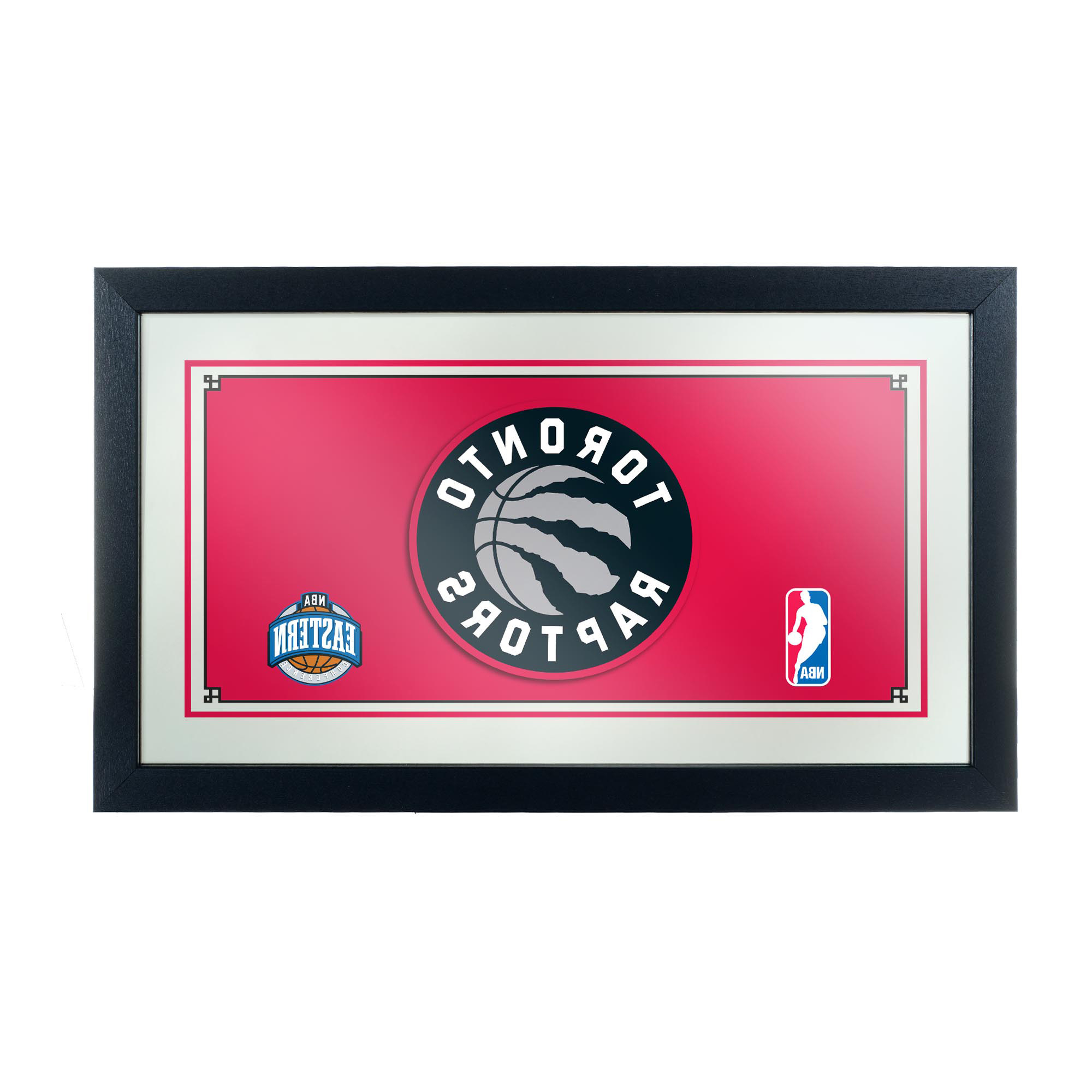 Popular Rhein Accent Mirrors Intended For Nba Framed Logo Mirror Sports & Outdoors (View 18 of 20)