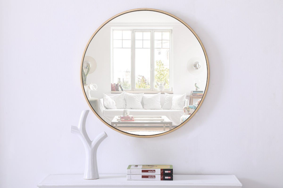 Popular Rhein Accent Mirrors Pertaining To Needville Modern & Contemporary Accent Mirror In  (View 5 of 20)