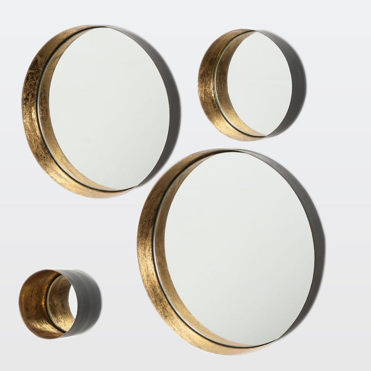 Popular Round Wall Mirror Sets For Round Wall Mirror – Set Of 8 – Elte Market (View 6 of 20)