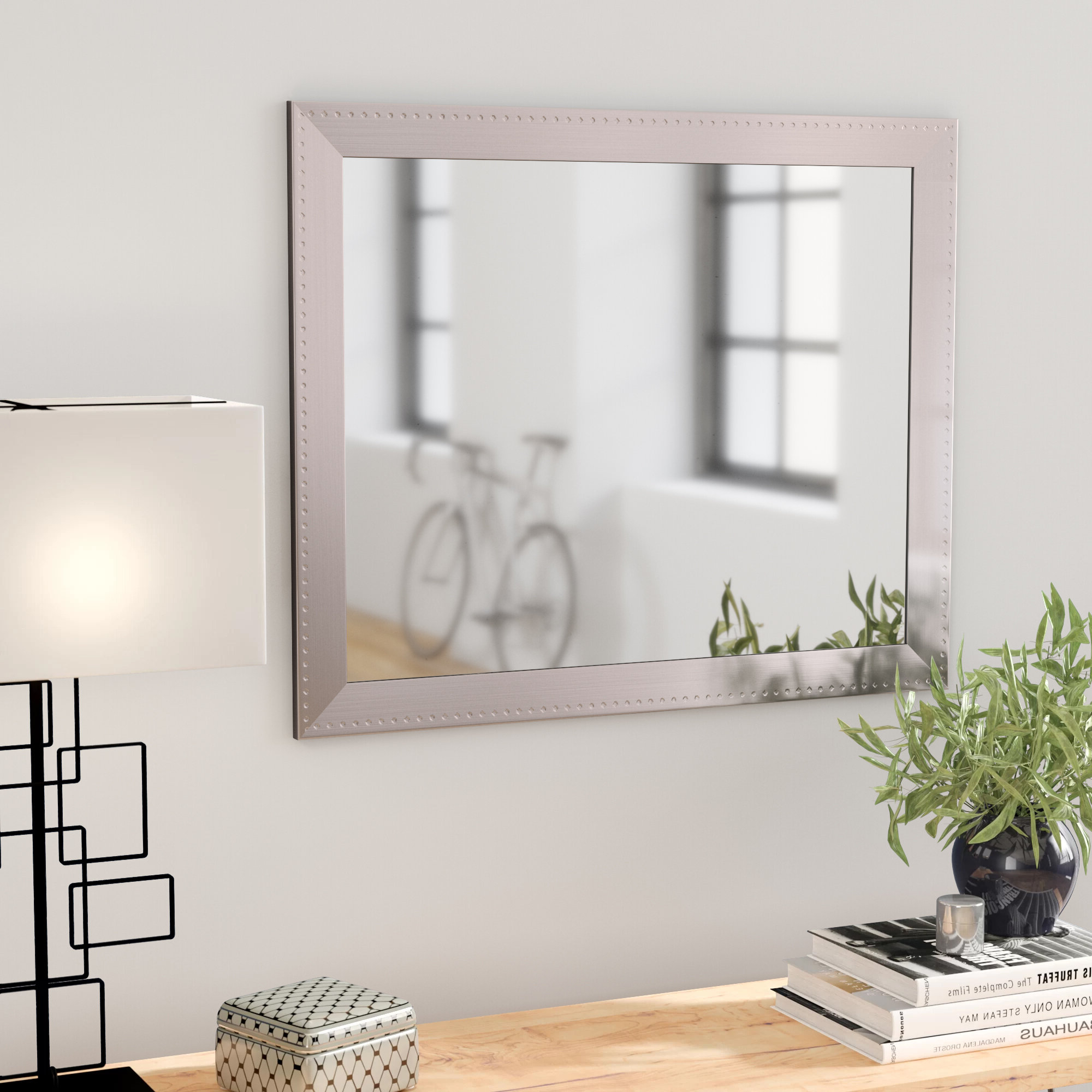 Popular Sartain Modern & Contemporary Wall Mirrors In Orren Ellis Woodruff Modern & Contemporary Accent Mirror (View 15 of 20)