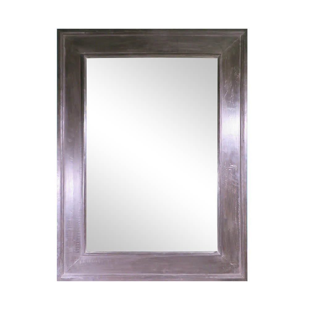 Popular Small Rectangular Minimalist Inset Frame Wall Mirror Inside Red Framed Wall Mirrors (View 4 of 20)