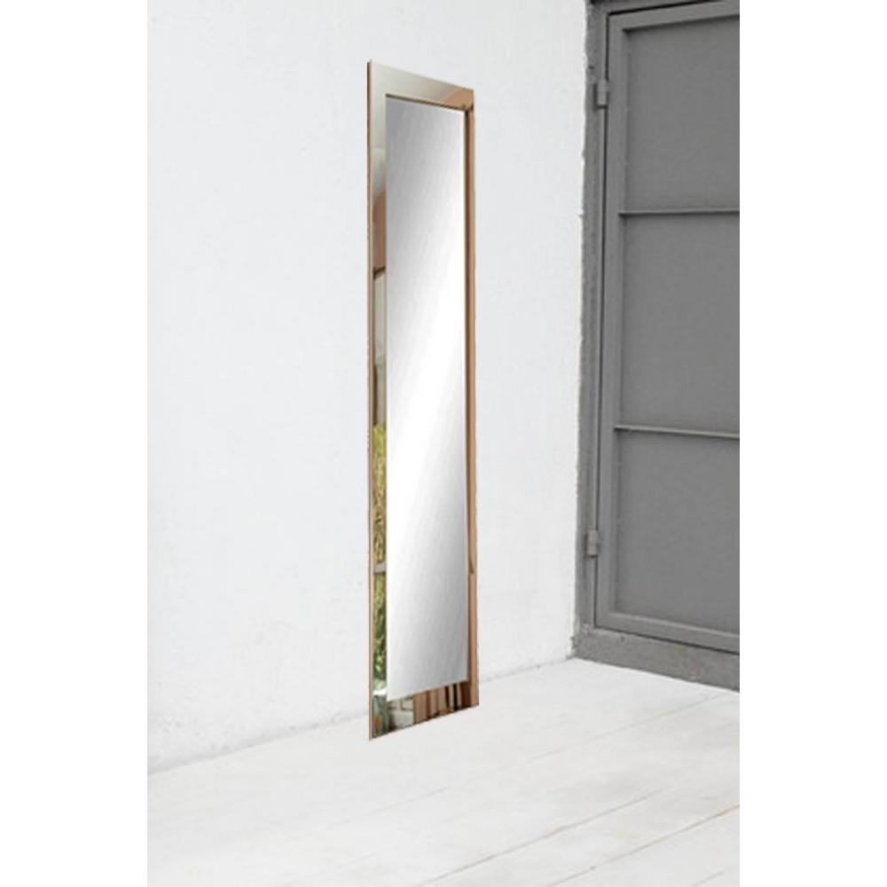 Popular Ultra Modern Chrome Full Length Framed Mirror Regarding Modern Full Length Wall Mirrors (Gallery 18 of 20)