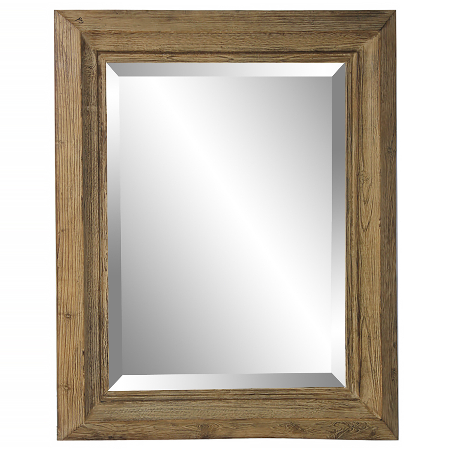 Popular Wooden Wall Mirrors For Natural Wooden Wall Mirror (View 9 of 20)