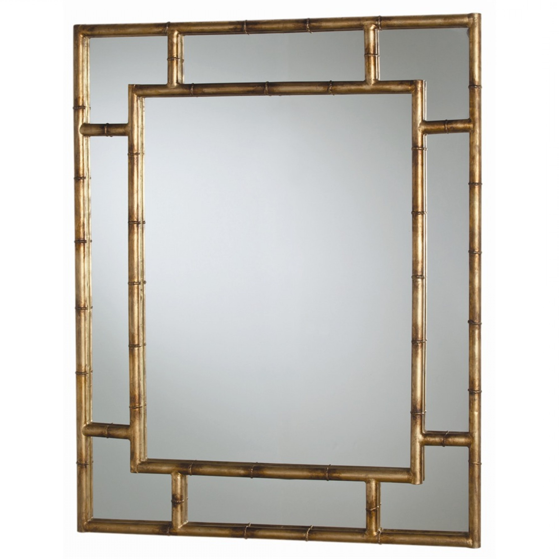 Porter Mirror Pertaining To Most Current Bamboo Framed Wall Mirrors (View 18 of 20)