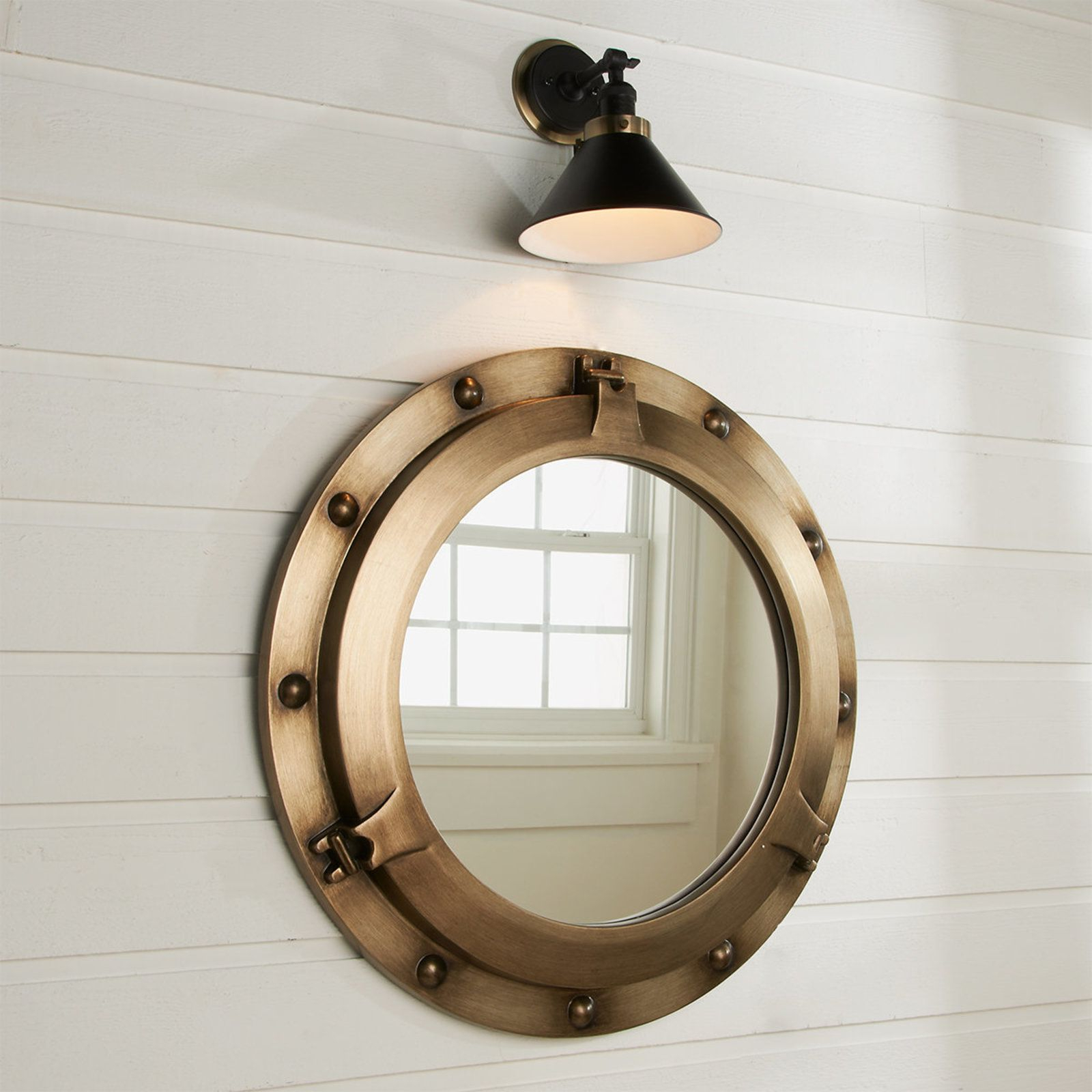 Porthole Mirror, Bathroom In Porthole Wall Mirrors (View 9 of 20)