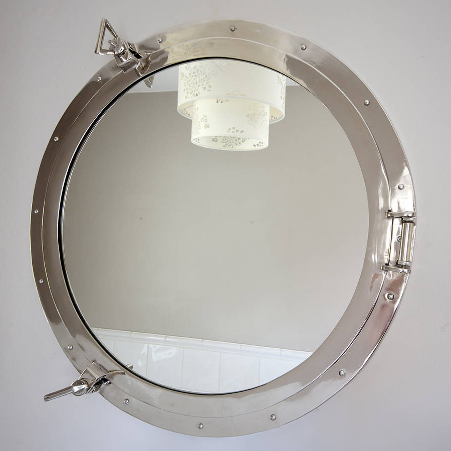 Porthole Wall Mirrors Throughout Current Round Porthole Mirror (View 5 of 20)