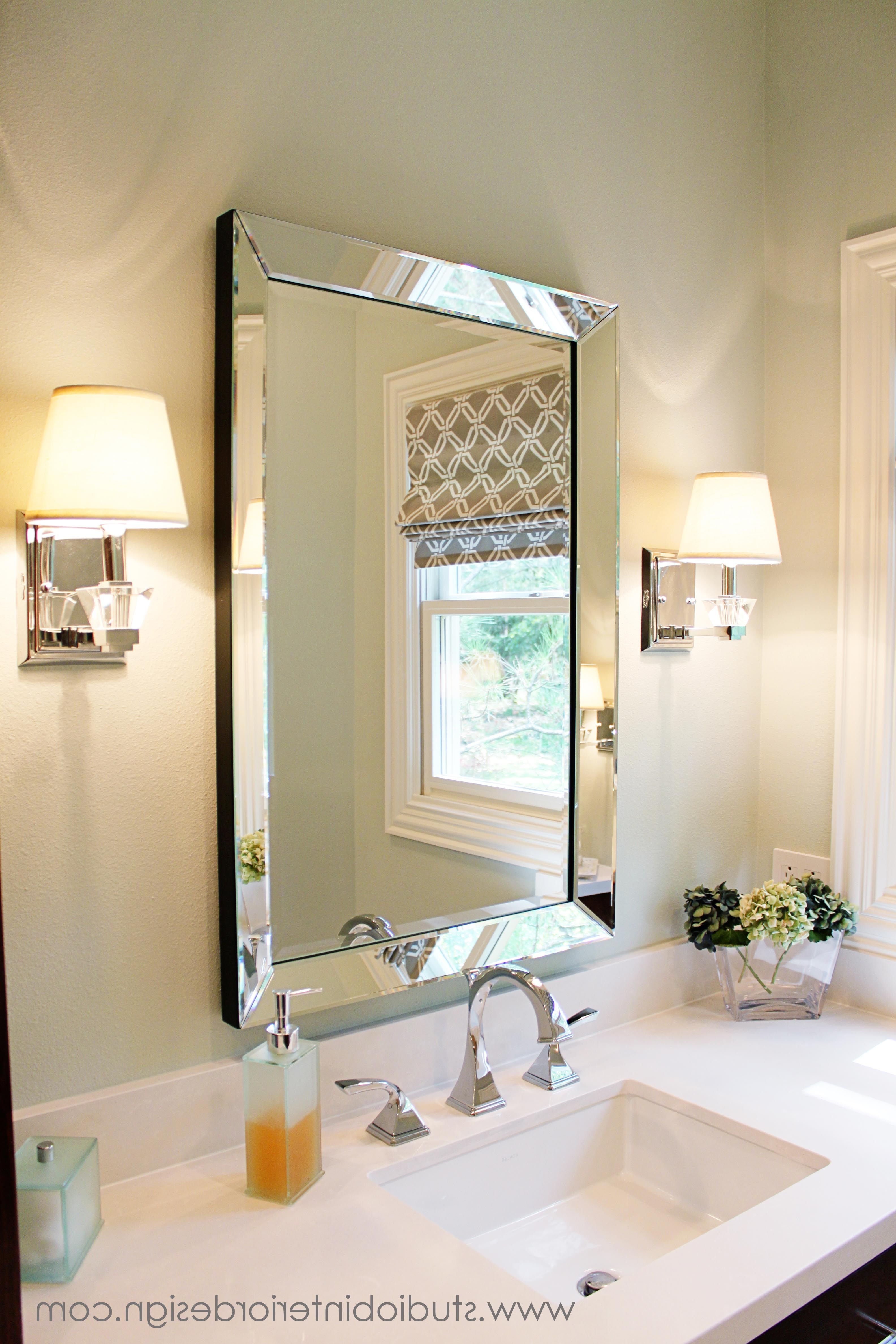 Pottery Barn Wall Mirrors Regarding Newest 12+ Extraordinary Bedroom Wall Mirror Girly Ideas In  (View 16 of 20)