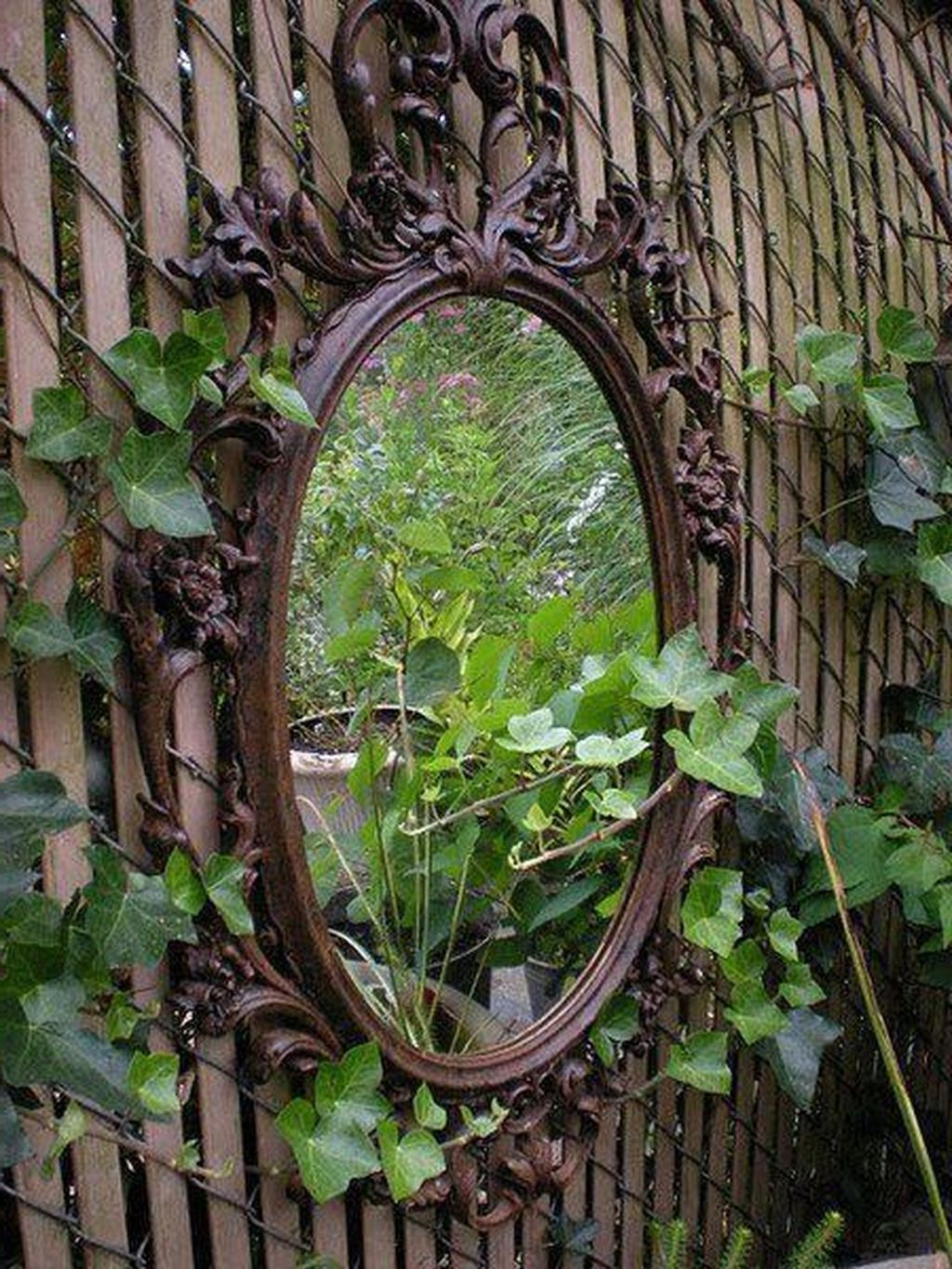 Preferred Awesome 20+ Magnificient Outdoor Garden Wall Mirrors Ideas For Garden Wall Mirrors (View 11 of 20)