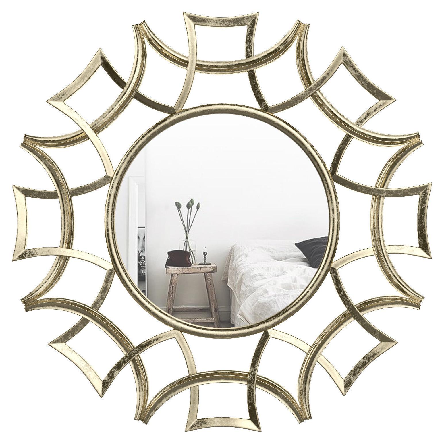 Preferred Brylee Traditional Sunburst Mirror Wrlo (View 2 of 20)