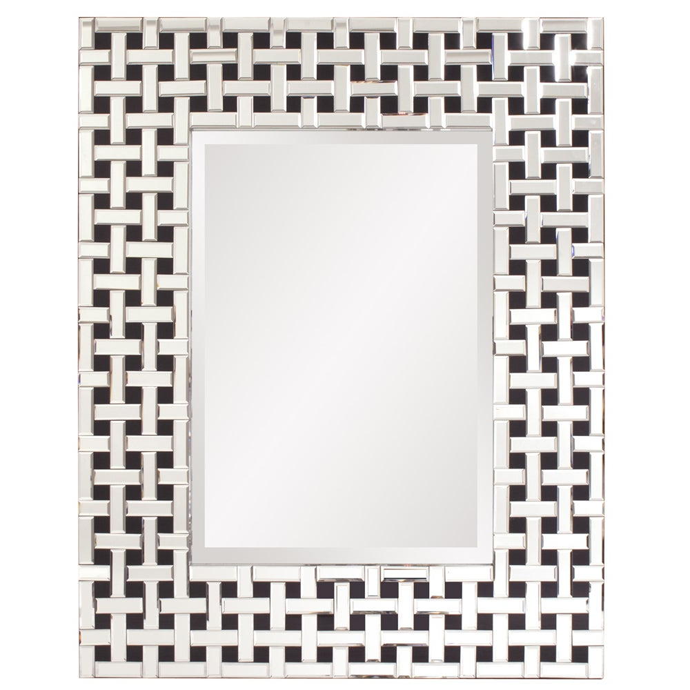 Preferred Colton Modern & Contemporary Wall Mirrors Regarding Howard Elliot Collection Allan Andrews Colton Glass/wood Modern Mirror (View 19 of 20)