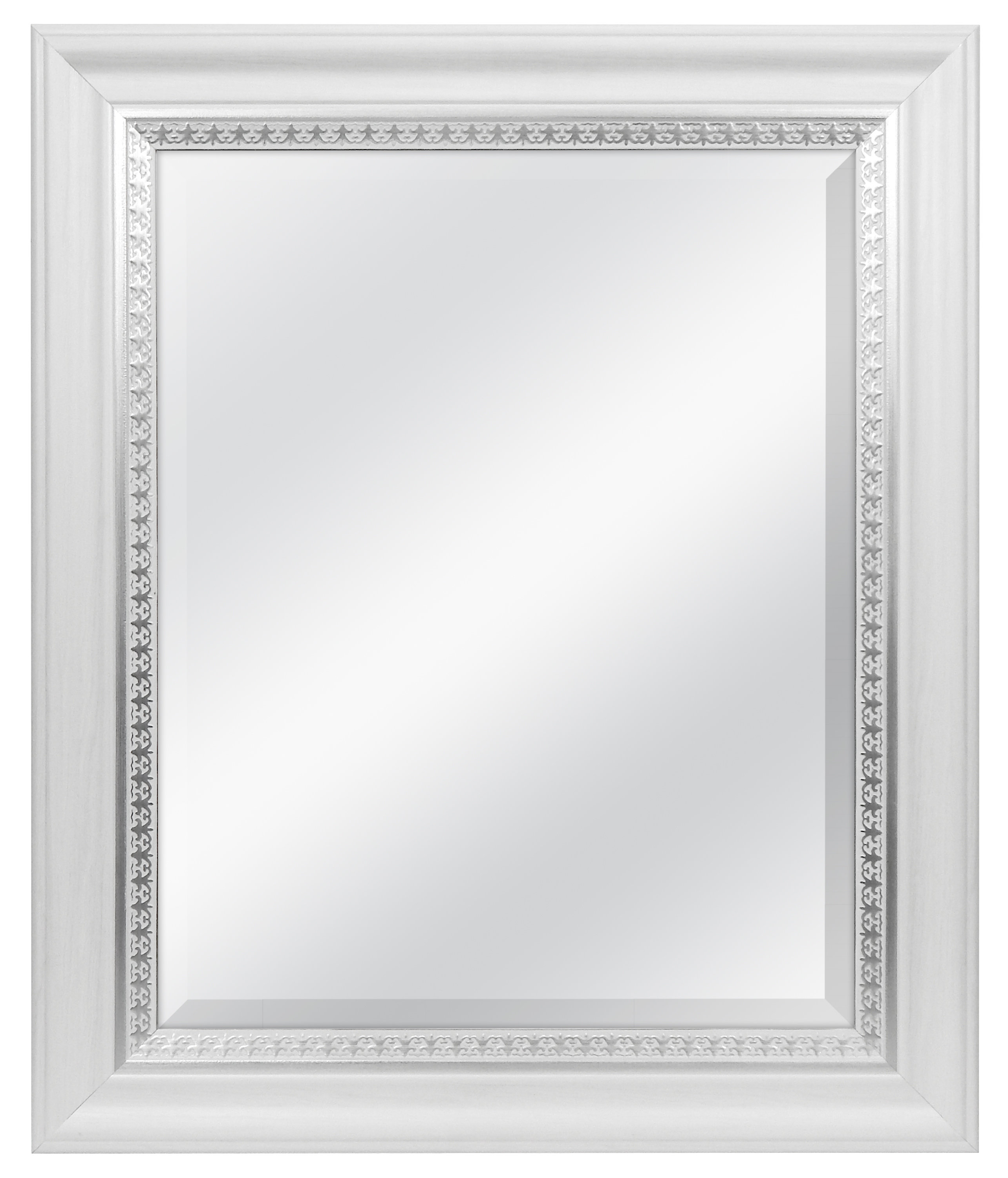 Preferred Dedrick Decorative Framed Modern And Contemporary Wall Mirrors With Regard To Farmhouse Woodgrain And Leaf Accent Wall Mirror (View 17 of 20)