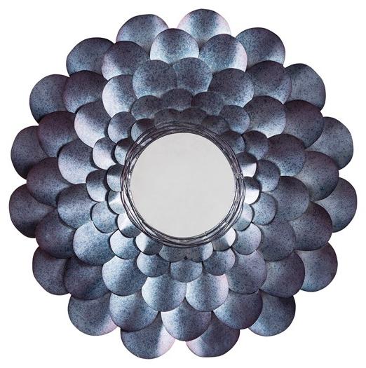 Preferred Deunoro – Blue – Accent Mirror (View 14 of 20)
