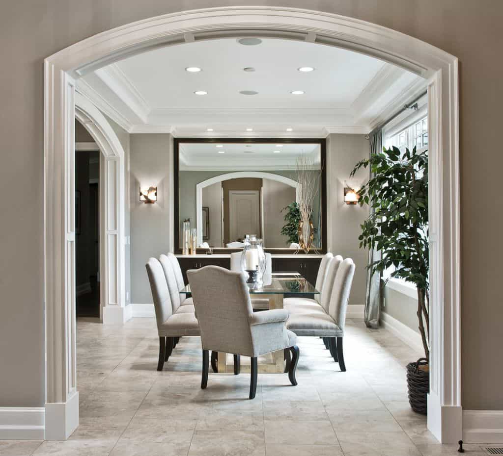 Preferred Dining Room With Large Wall Mirror – Placing Sconces In Your Dining Within Large Living Room Wall Mirrors (View 15 of 20)