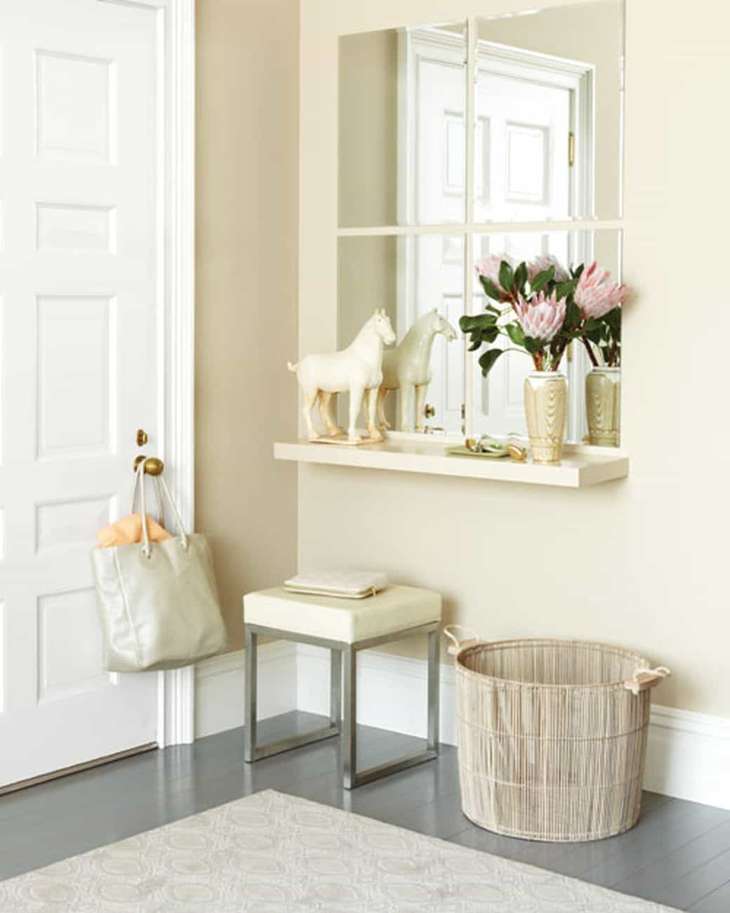 Preferred Entryway With Wall Mirrors And Shelf – Types Of Entryway Shelves Intended For Entry Wall Mirrors (View 12 of 20)