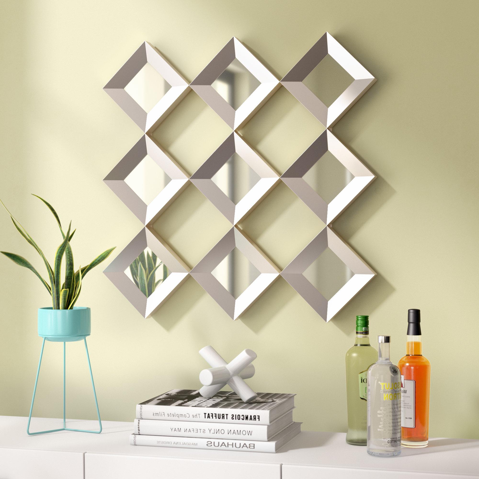 Preferred Fredela Decorative Wall Mirror Throughout Decorative Wall Mirrors (View 15 of 20)