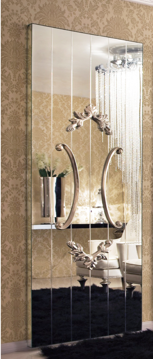 Preferred Full Wall Mirrors With Decorative Full Wall Mirror – Bordeaux 8ft (View 6 of 20)