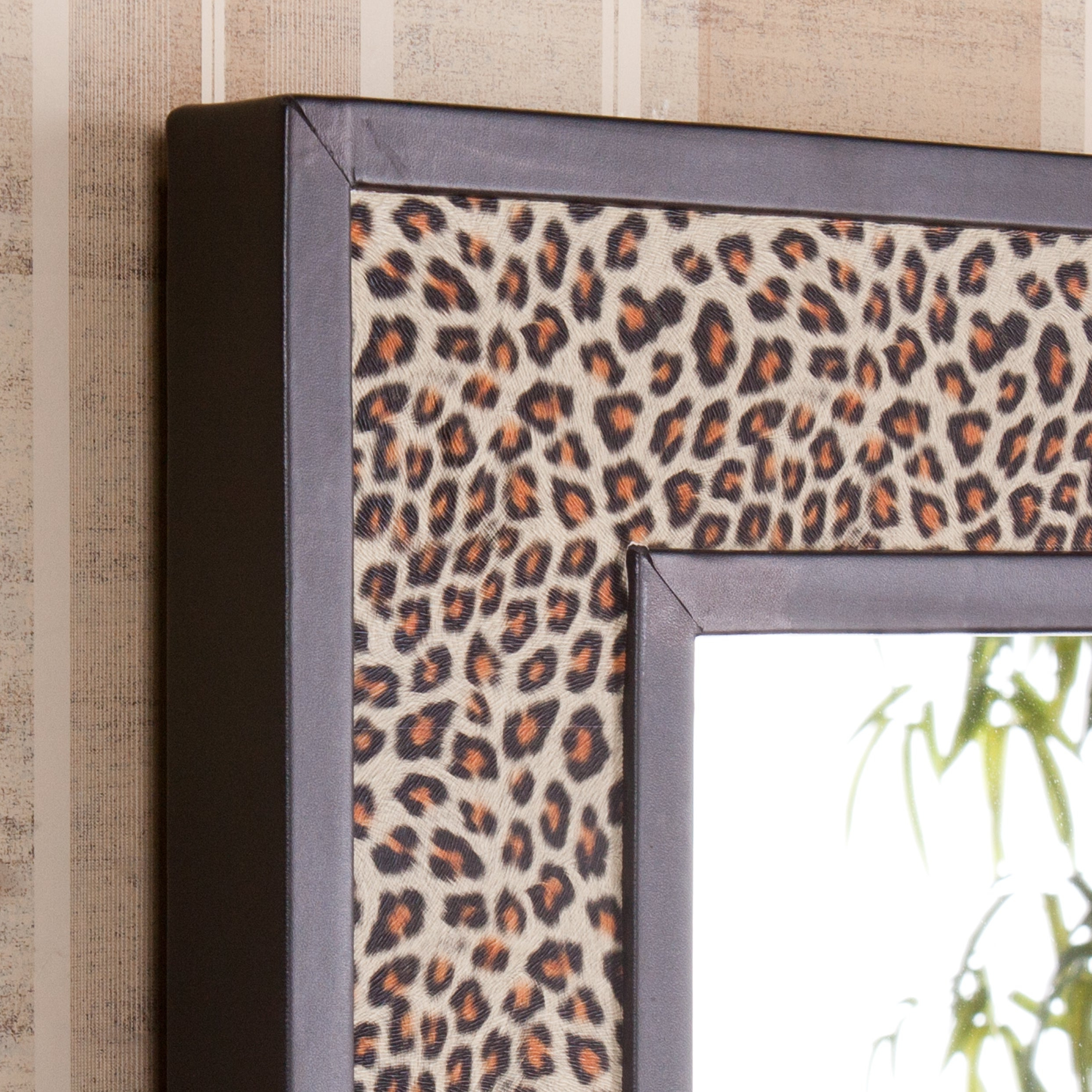 Preferred Harper Blvd Pavia Leopard Animal Print Decorative Wall Mirror Throughout Leopard Wall Mirrors (View 16 of 20)