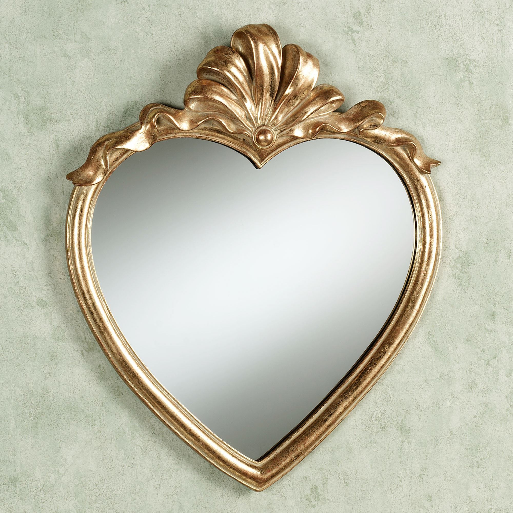 Preferred Heart Wall Mirrors Within Karessa Heart Wall Mirror (View 2 of 20)