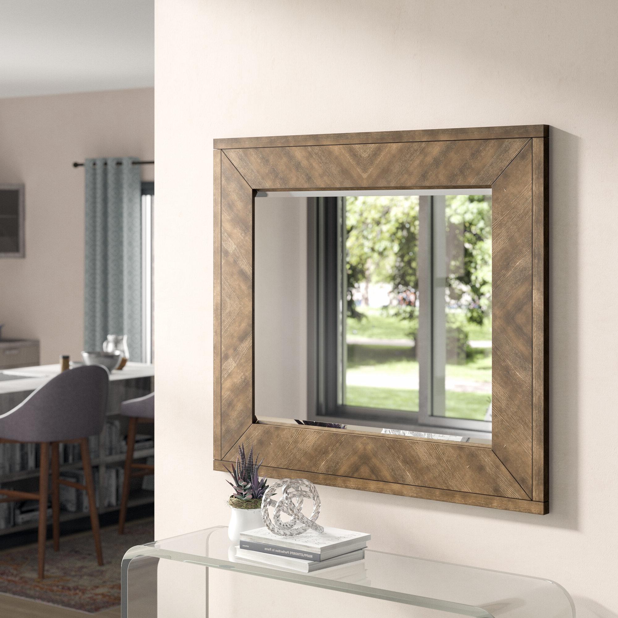 Preferred Hosier Rectangular Dresser Mirror Regarding Berinhard Accent Mirrors (View 13 of 20)