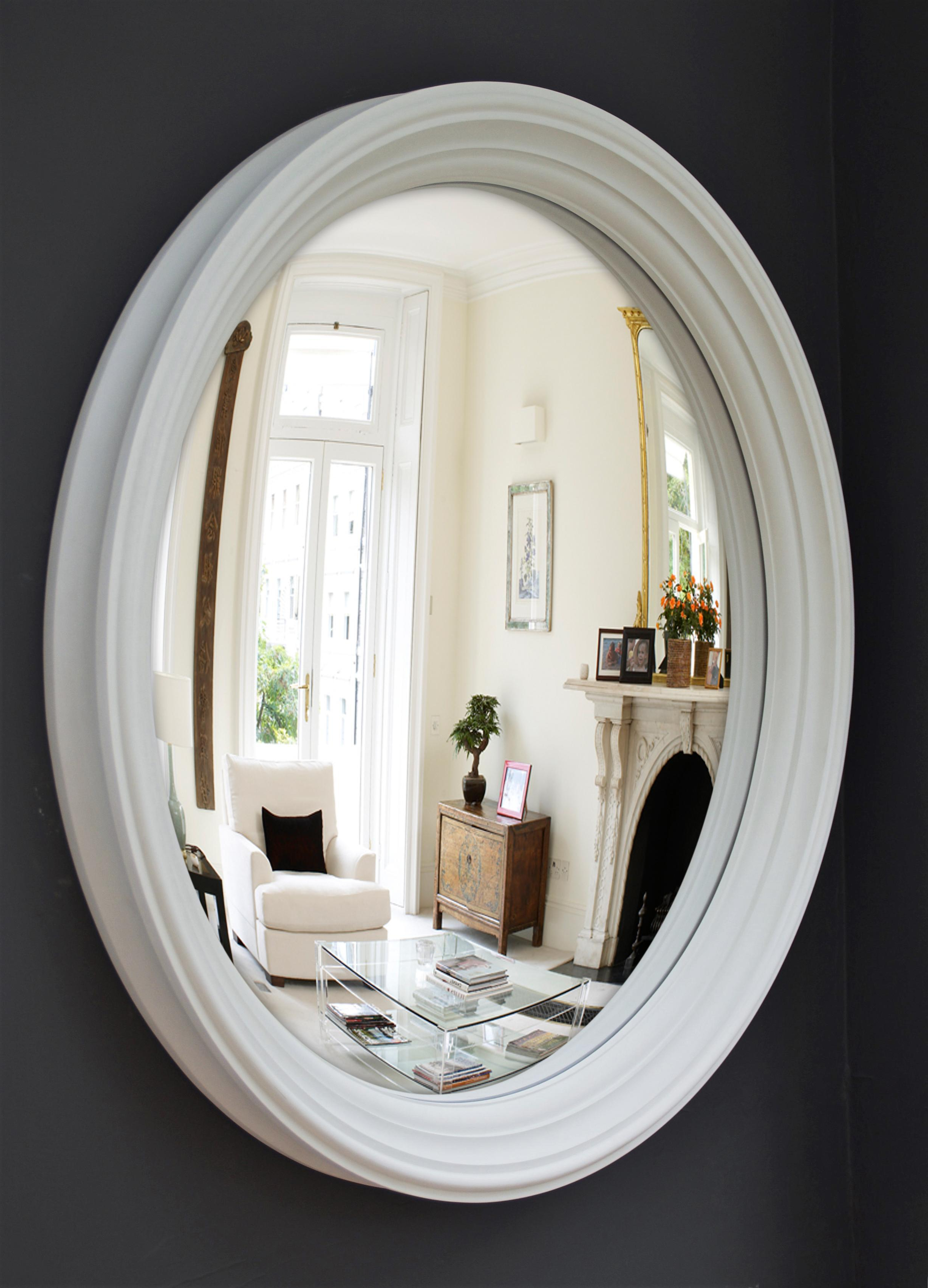 Preferred Large Lucca Convex Mirror (105cm)omelo Mirrors In Wall Mirrors Pertaining To Convex Wall Mirrors (View 19 of 20)