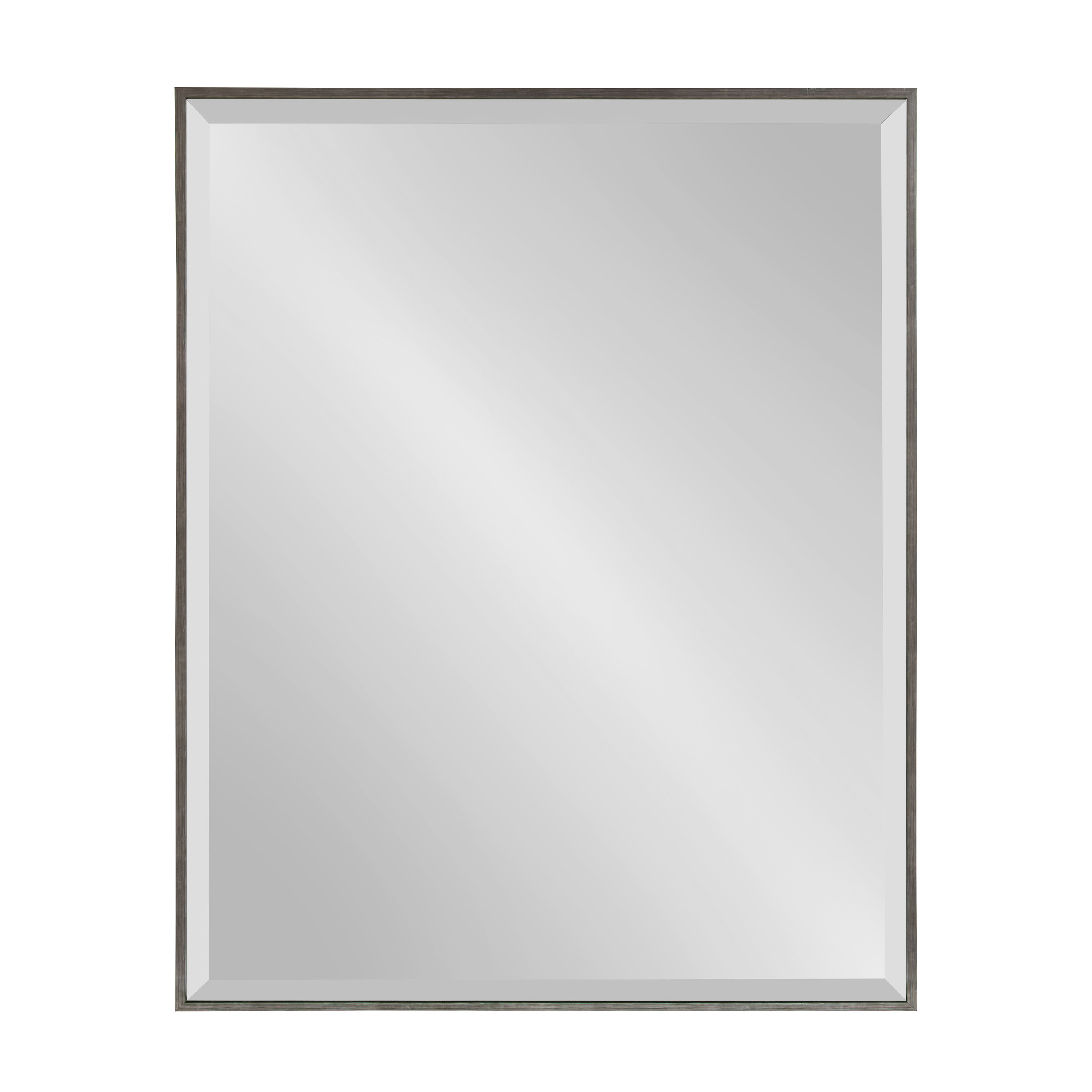 Preferred Longwood Rustic Beveled Accent Mirrors With Logsdon Traditional Beveled Accent Mirror (View 11 of 20)