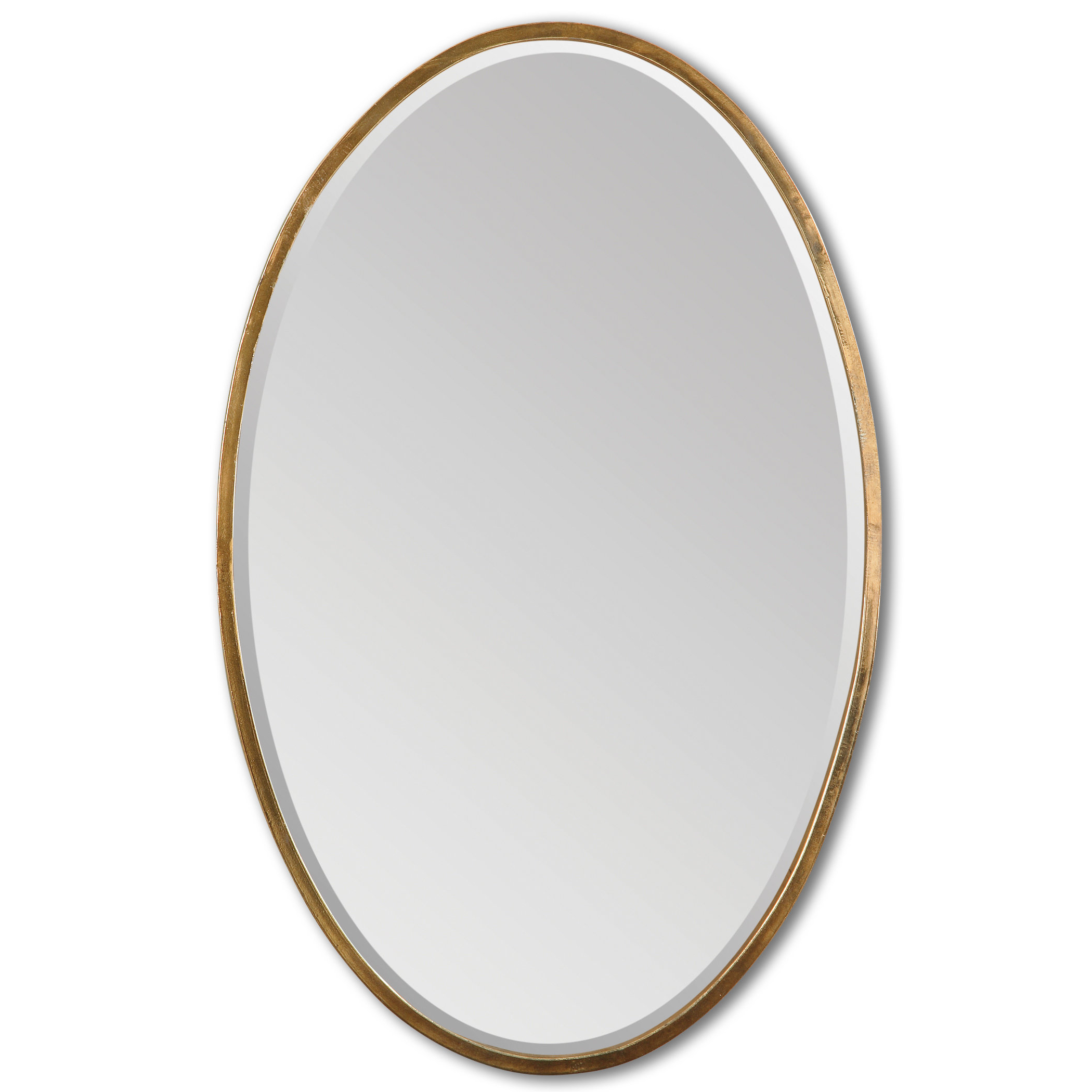 Preferred Luna Accent Mirrors For Kennedy Gold Oval Accent Mirror (View 16 of 20)