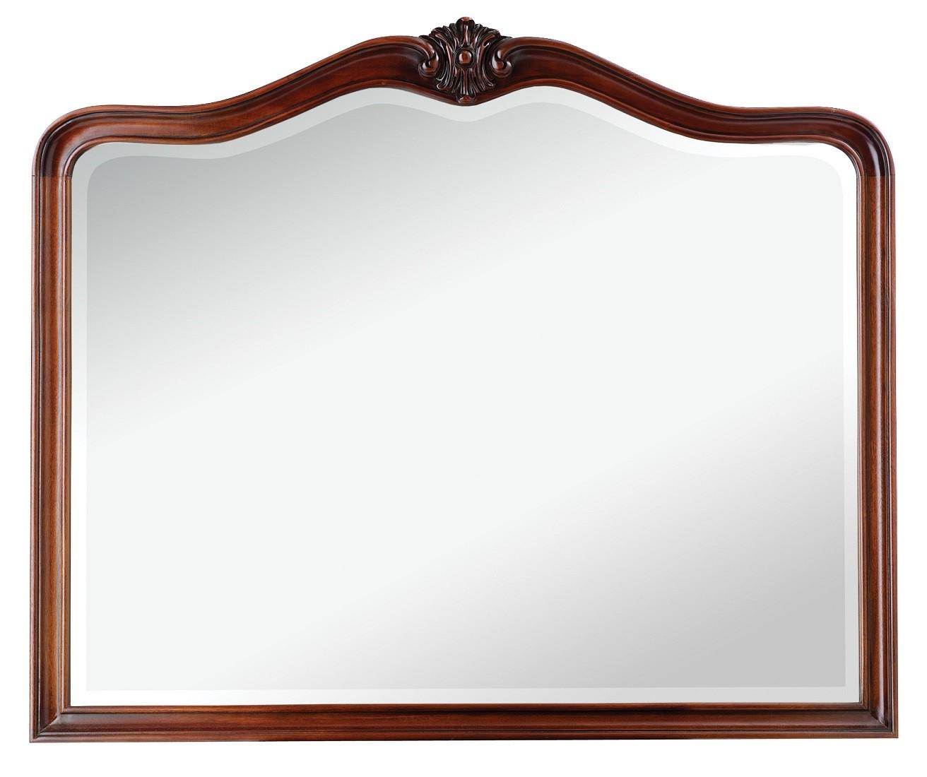 Preferred Mahogany Wall Mirrors Intended For Louis French Mahogany Wall Mirror (View 14 of 20)