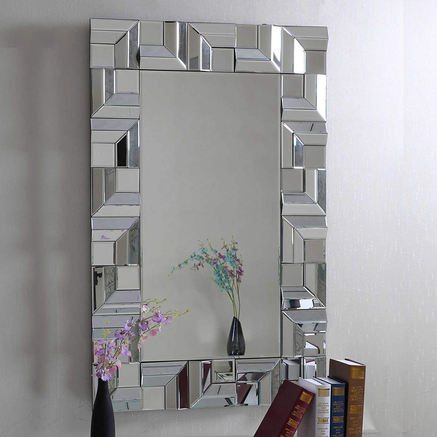 Preferred Multi Panel Wall Mirrors For Buy Brizzio Ps 013 Rectangular Multi Panel Decorative Wall Mirror (View 17 of 20)