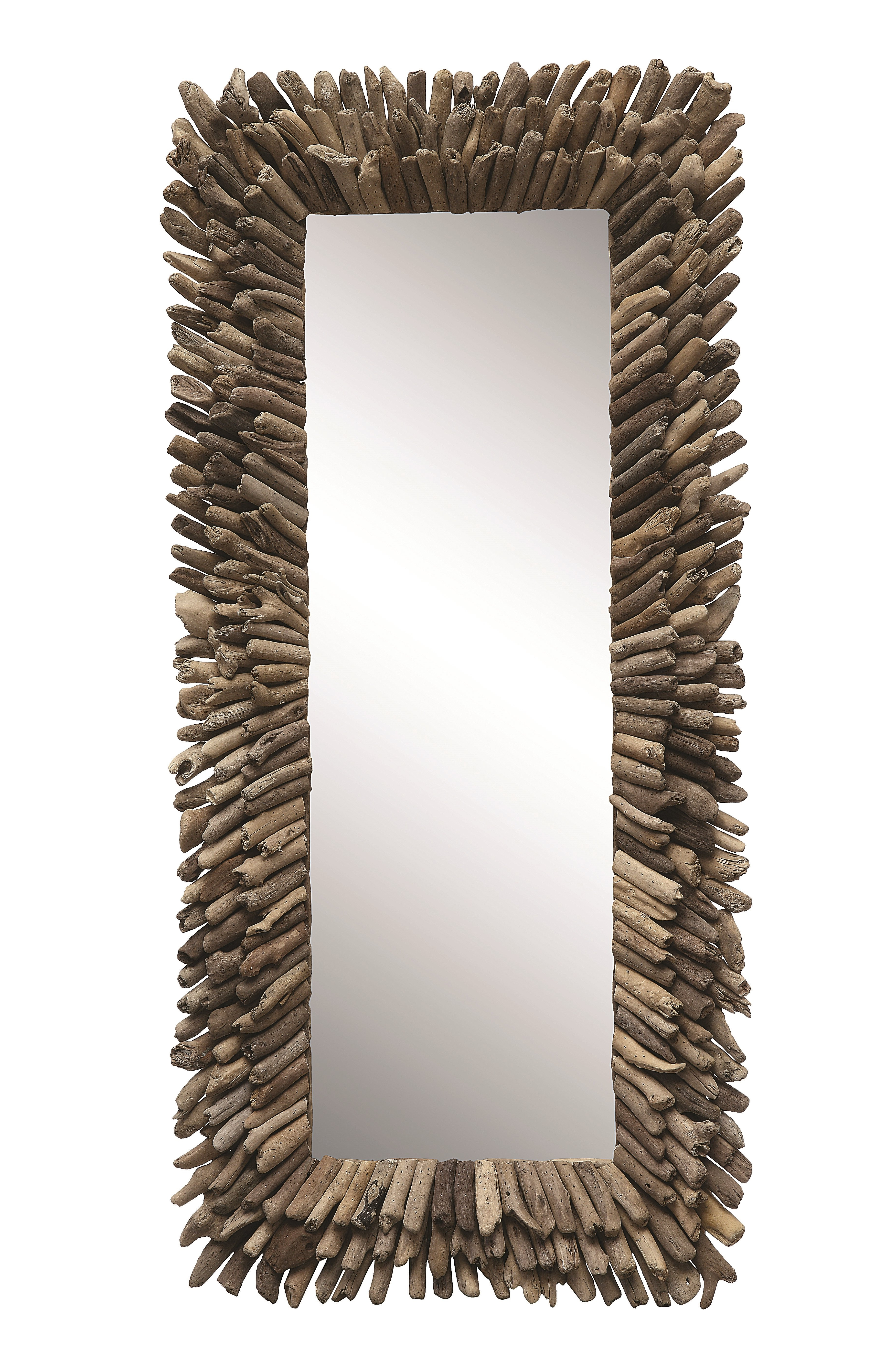 Preferred Perillo Burst Wood Accent Mirrors Throughout Kellett Accent Mirror (View 9 of 20)