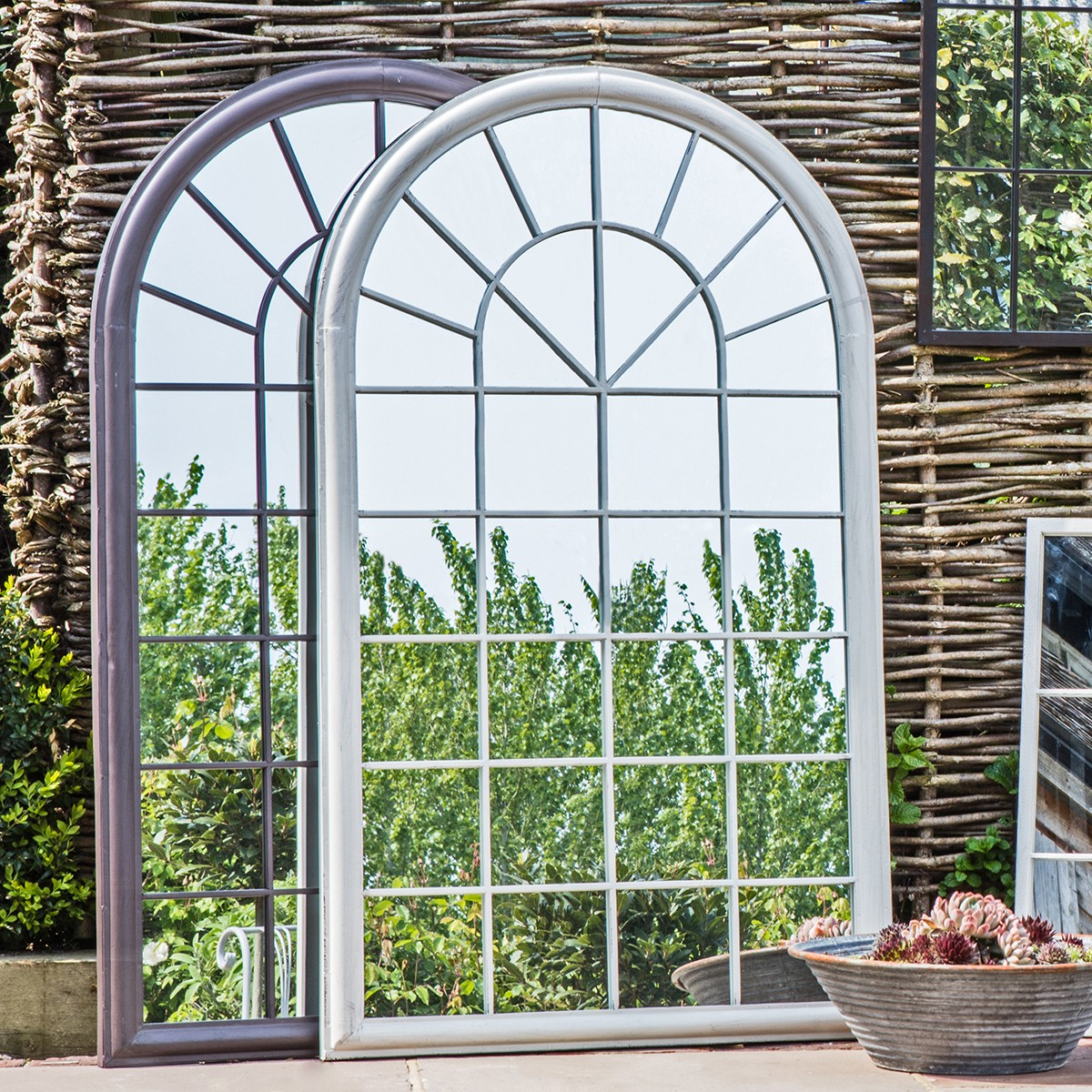 Preferred Rheims Garden Wall Mirror – Alison At Home Intended For Garden Wall Mirrors (View 7 of 20)