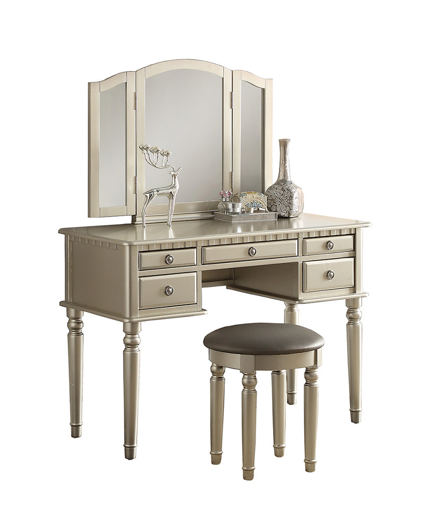 Preferred Rosdorf Park Absher Vanity Set With Mirror In Diamondville Modern & Contemporary Distressed Accent Mirrors (View 17 of 20)