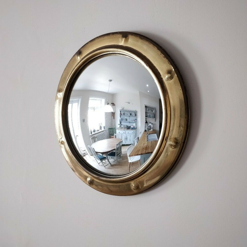 Featured Photo of Round Convex Wall Mirrors