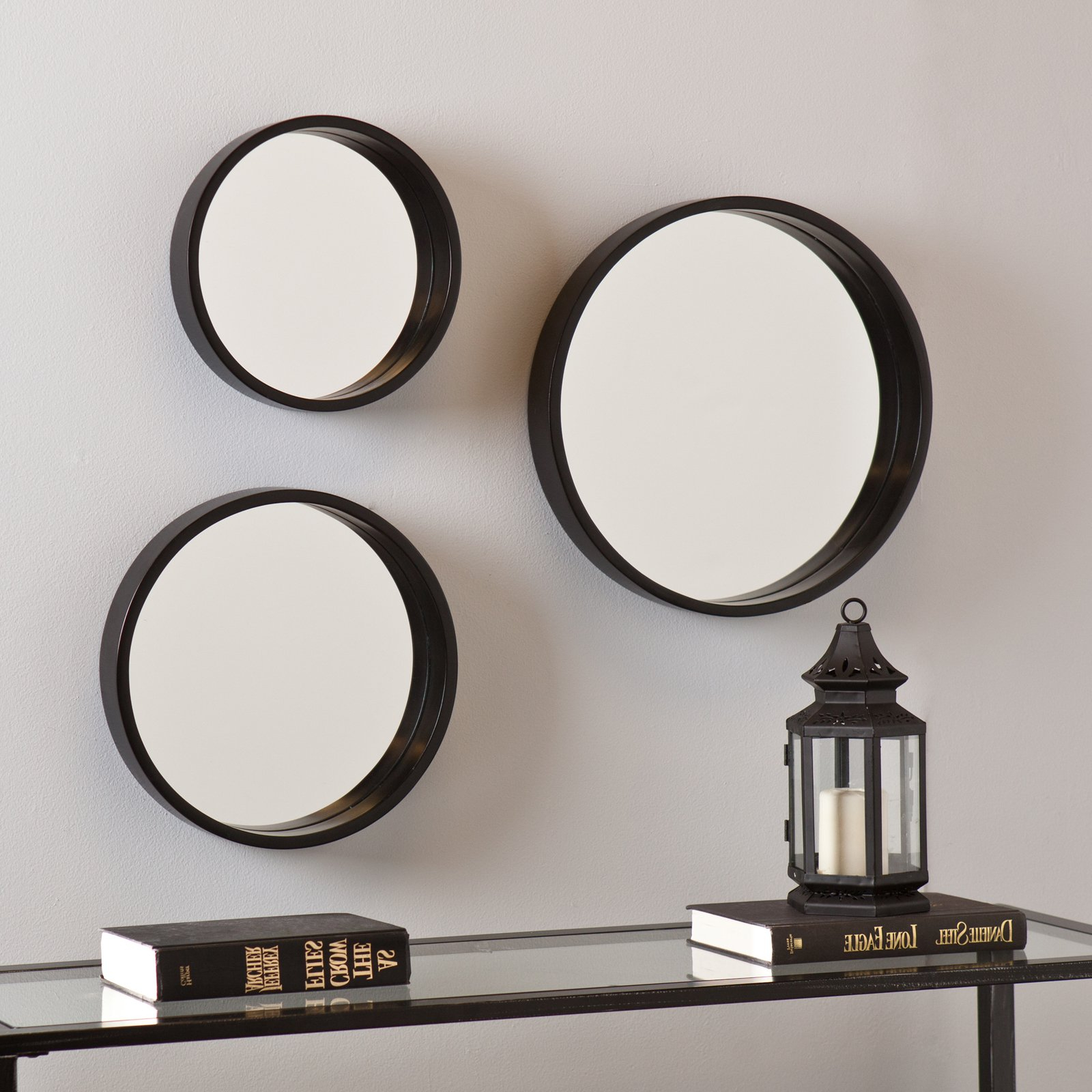 Preferred Set Of 3 Wall Mirrors In Holly & Martin Daws Wall Mirror 3 Piece Set (View 7 of 20)