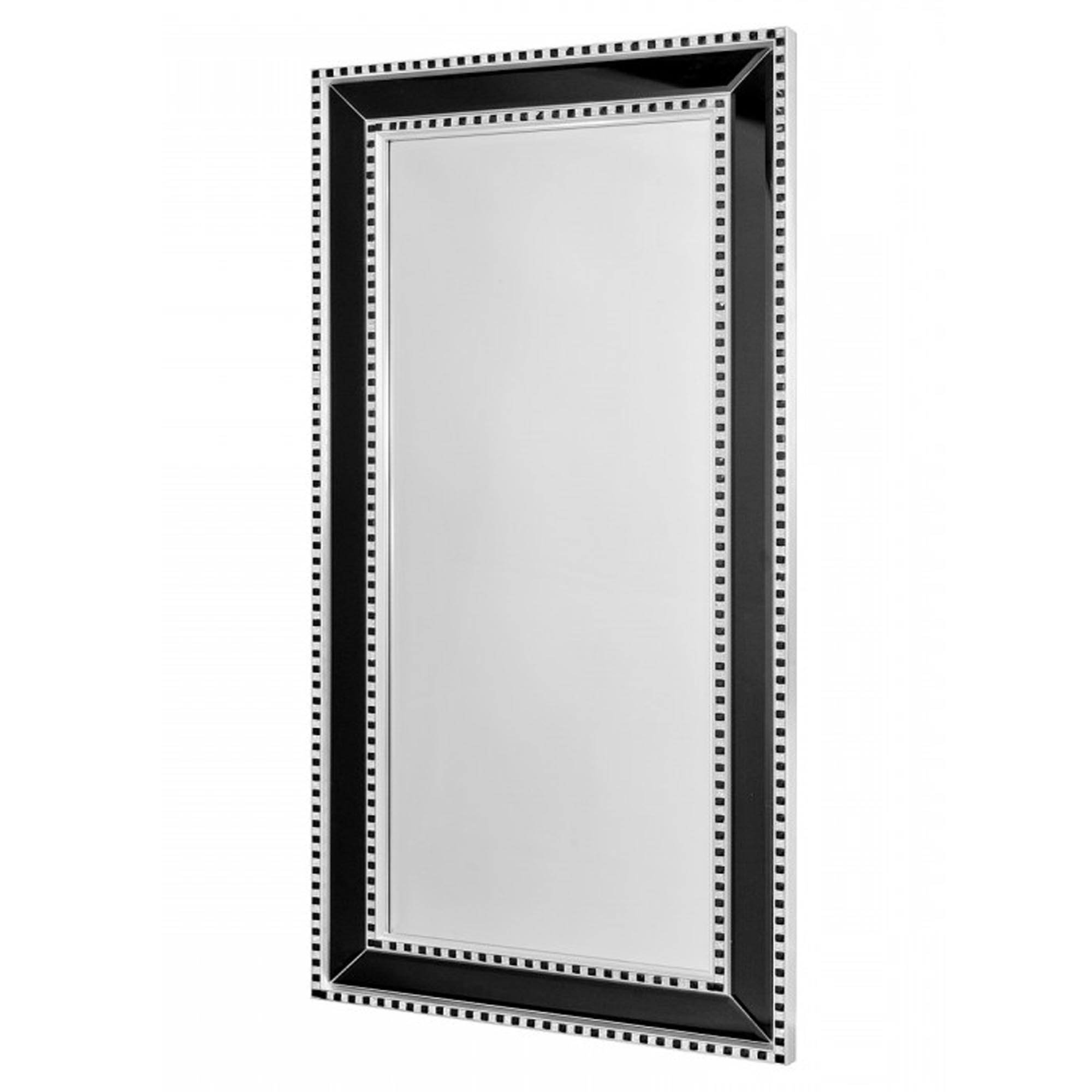 Preferred Sparkle Wall Mirrors With Black & Silver Sparkle Wall Mirror (View 5 of 20)