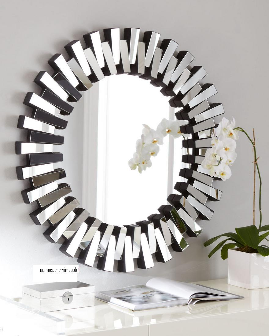 Preferred Sunburst Mirror Contemporary Silver – 902 Within Sydney Large Wall Mirrors (View 2 of 20)