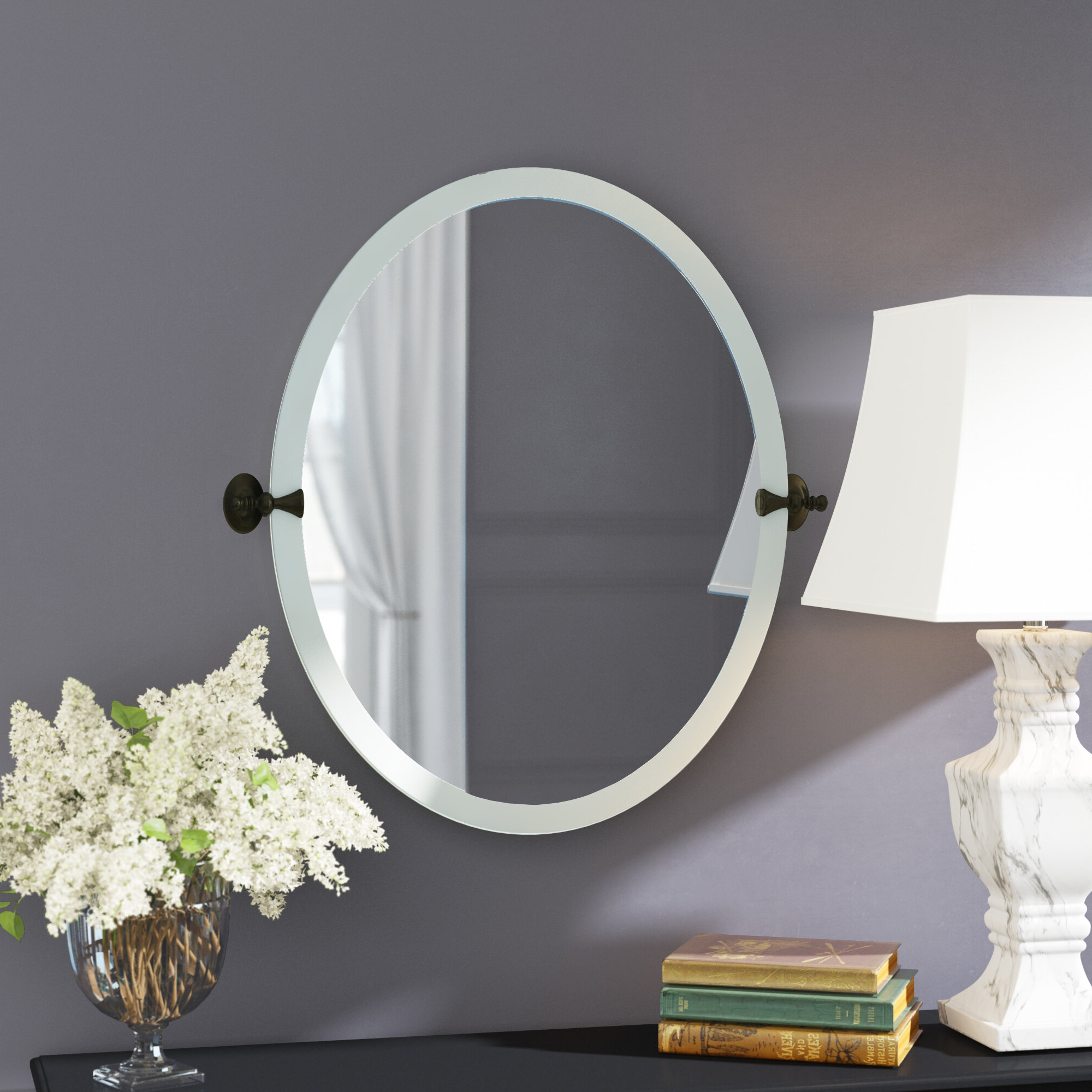 Preferred Tilting Wall Mirrors Intended For Gilcrest Tilting Wall Mirror (View 12 of 20)