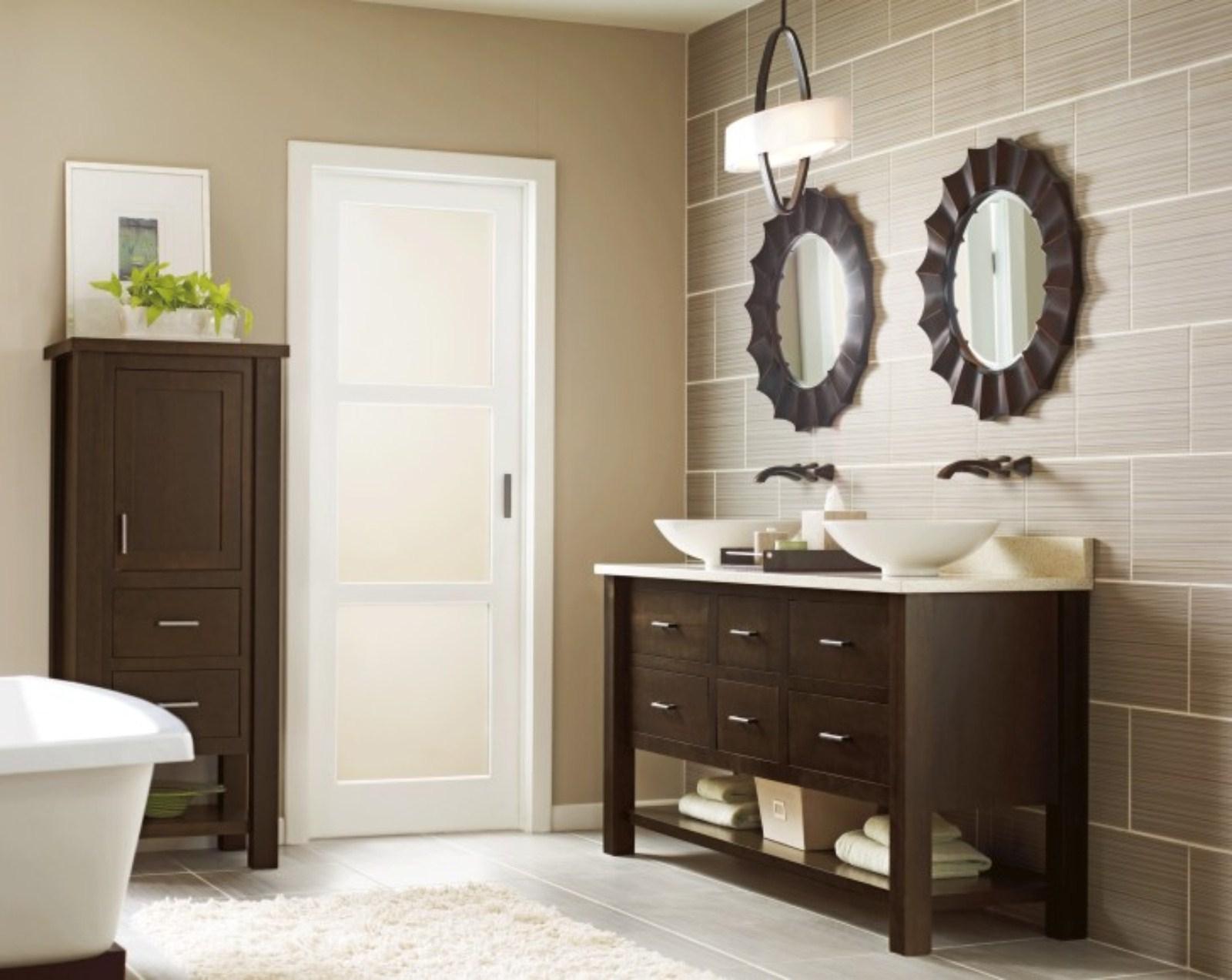 Preferred Top 35 Skookum Bathroom Vanity Mirrors Framed Long Wall Intended For Wall Mirrors For Bathroom Vanities (View 11 of 20)