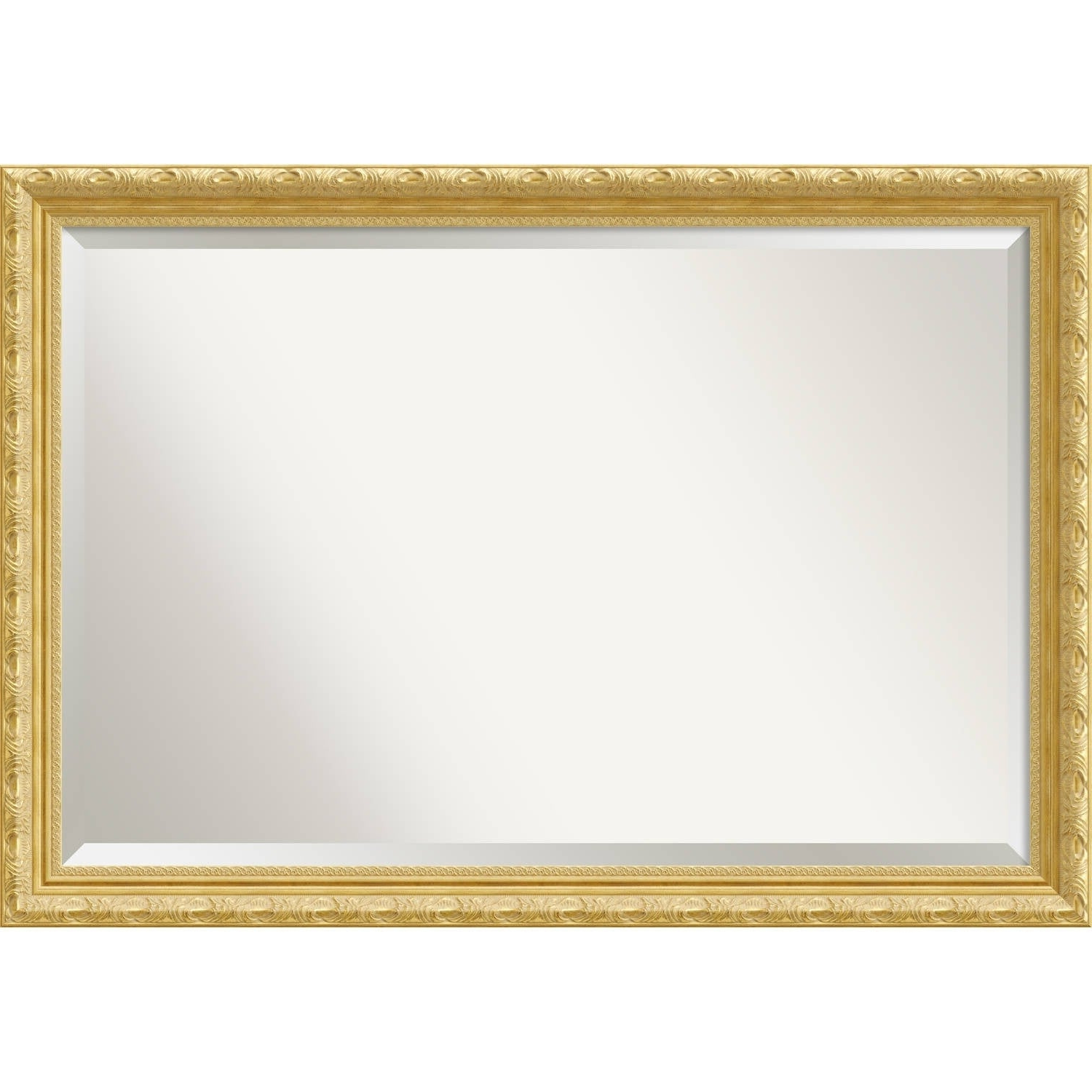Preferred Wall Mirror Extra Large, Versailles Gold 40 X 28 Inch – Antique Gold –  Extra Large – 40 X 28 Inch Intended For Extra Large Framed Wall Mirrors (View 20 of 20)