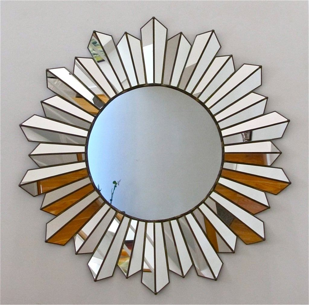 Pretty Ornament Star Mirror Wall Decor Room Jeffsbakery – Myasthenia Throughout Most Recent Soleil Wall Mirrors (View 15 of 20)