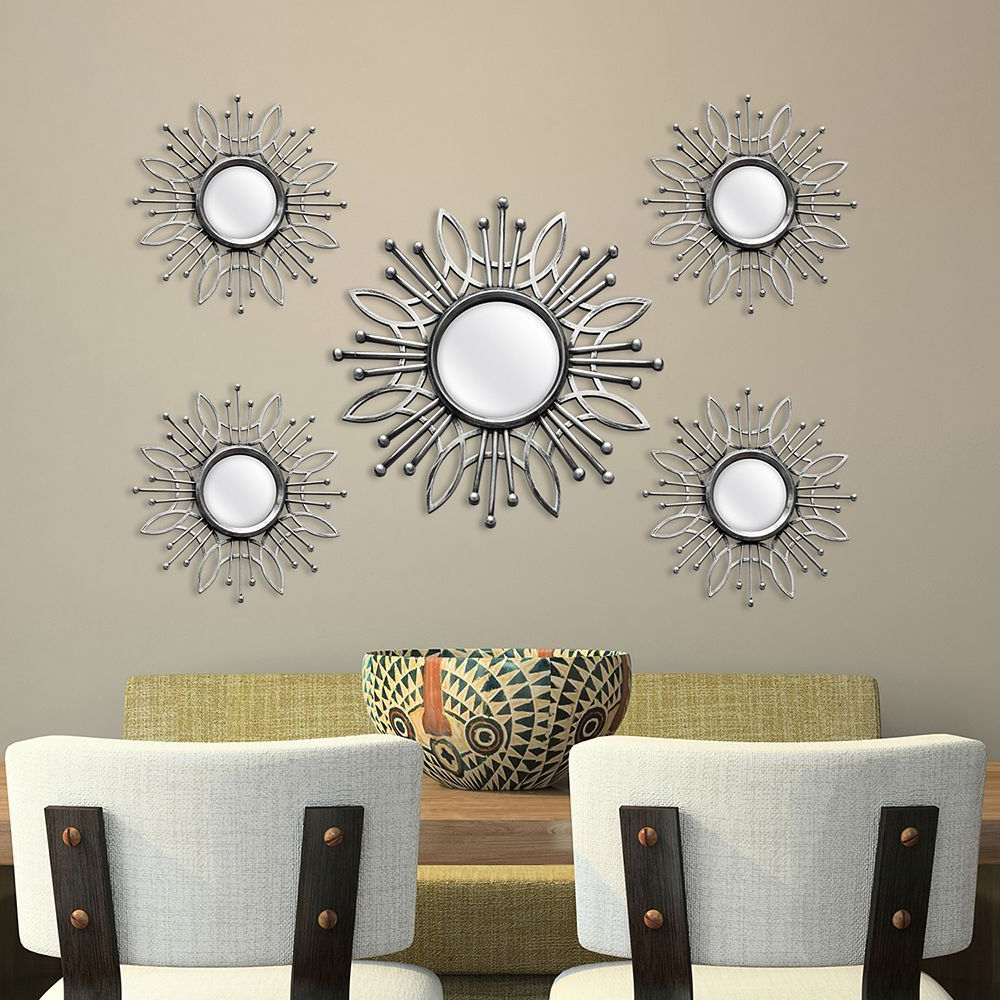 Products Regarding Bruckdale Decorative Flower Accent Mirrors (View 6 of 20)