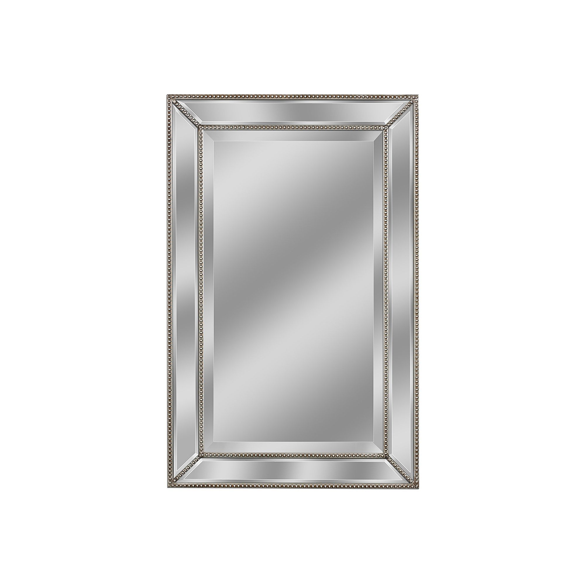 Products Throughout 2020 Silver Beaded Wall Mirrors (Gallery 1 of 20)