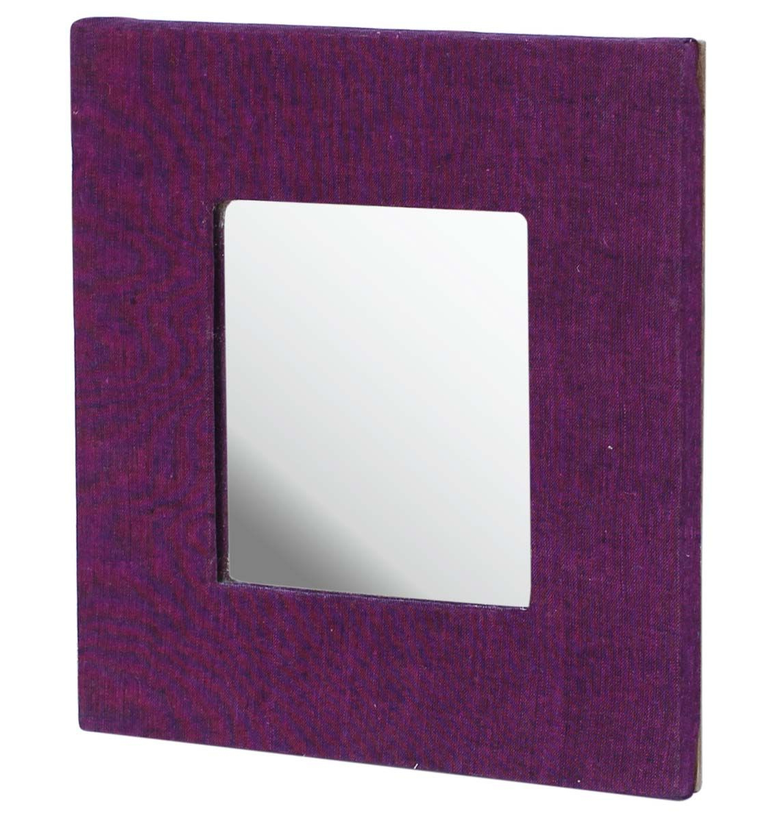 Purple Wall Mirrors For Recent Wholesale Handmade Square Shaped Mirror In Purple Color (View 12 of 20)