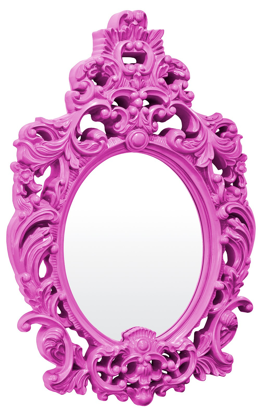 Purple Wall Mirrors Pertaining To Well Known Andrea Purple Wall Mirror (View 15 of 20)