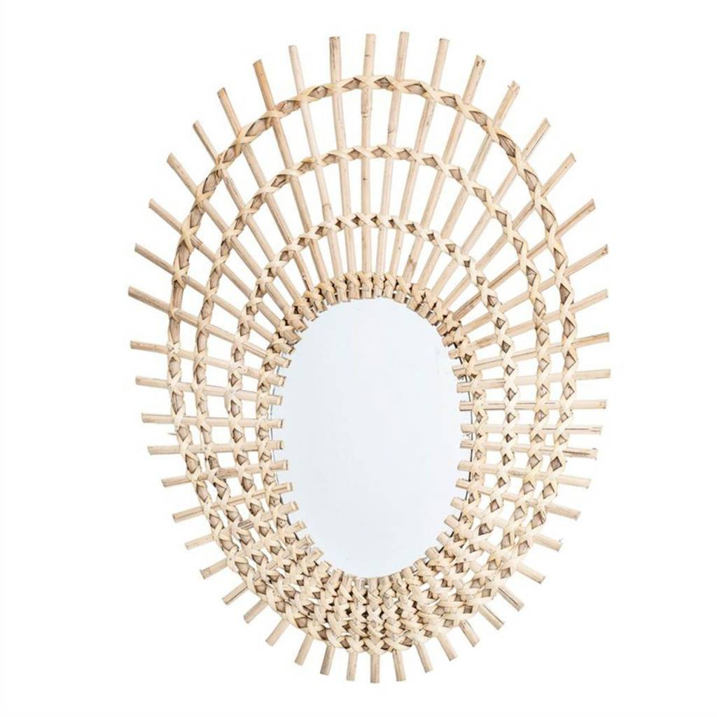 Rattan Wall Mirror For Most Recently Released Rattan Wall Mirrors (Gallery 10 of 20)